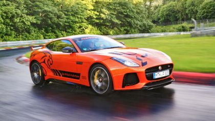 2016 Jaguar F-Type SVR at Nürburgring 8