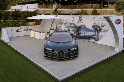 2016 Bugatti Chiron at The Quail 11
