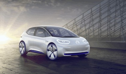 2016 Volkswagen I.D. electric concept car 1