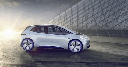 2016 Volkswagen I.D. electric concept car 2