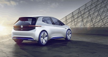2016 Volkswagen I.D. electric concept car 3