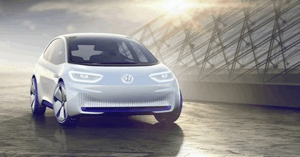 2016 Volkswagen I.D. electric concept car 4