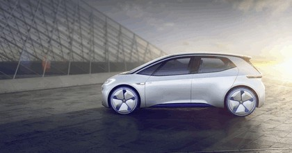 2016 Volkswagen I.D. electric concept car 5