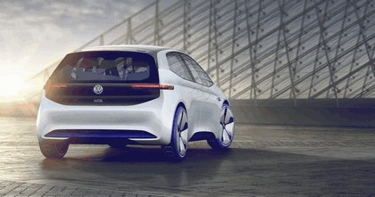 2016 Volkswagen I.D. electric concept car 6