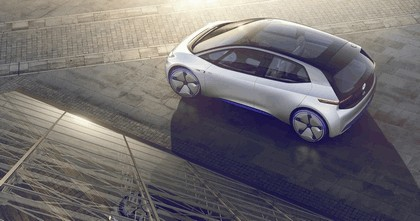 2016 Volkswagen I.D. electric concept car 7