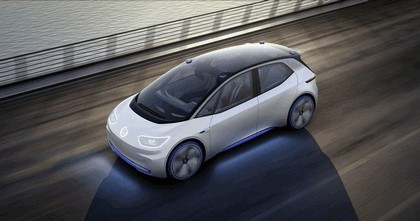 2016 Volkswagen I.D. electric concept car 8