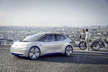 2016 Volkswagen I.D. electric concept car 10
