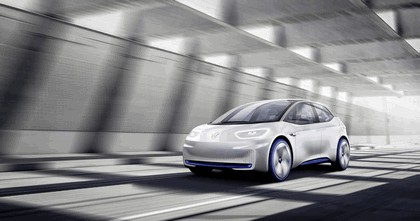 2016 Volkswagen I.D. electric concept car 12