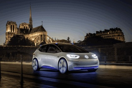 2016 Volkswagen I.D. electric concept car 14
