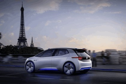 2016 Volkswagen I.D. electric concept car 15