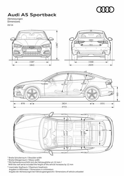 2017 Audi A5 sportback 29