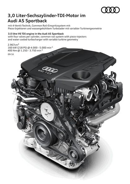 2017 Audi A5 sportback 36