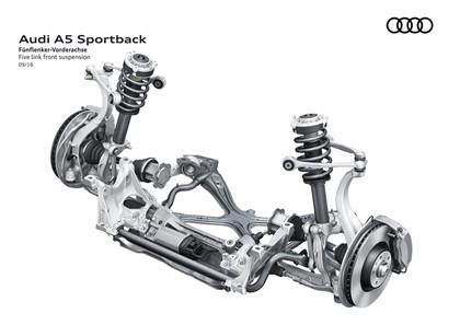 2017 Audi A5 sportback 45