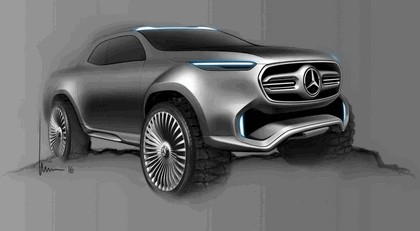 2017 Mercedes-Benz X-klasse concept 25