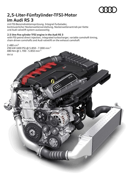 2017 Audi RS3 sedan 23