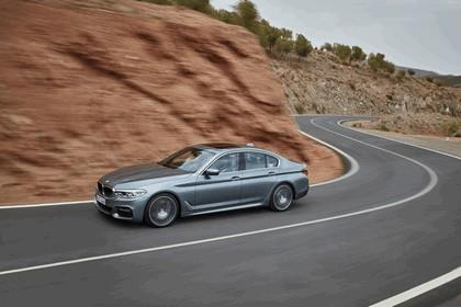 2016 BMW 540i M Sport 35