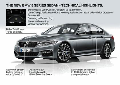 2016 BMW 540i M Sport 82