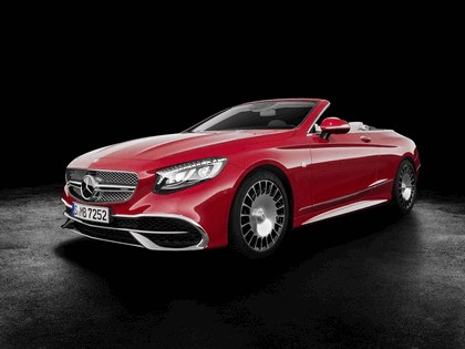 2017 Mercedes-Maybach S 650 cabriolet 1