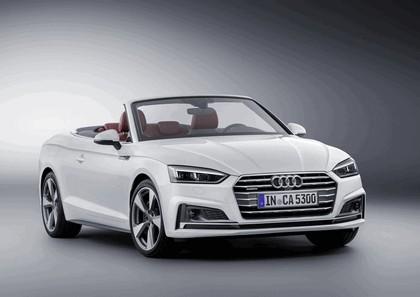 2017 Audi A5 cabriolet 1