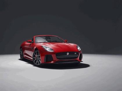 2017 Jaguar F-type SVR convertible 1