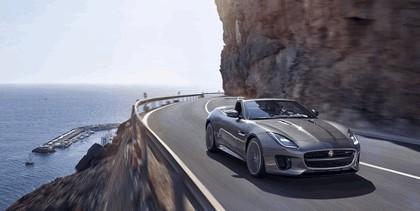 2017 Jaguar F-type R-Dynamic convertible 1