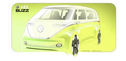 2017 Volkswagen I.D. BUZZ concept 27