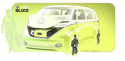 2017 Volkswagen I.D. BUZZ concept 28