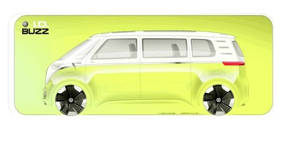 2017 Volkswagen I.D. BUZZ concept 29
