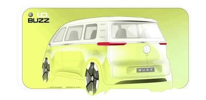 2017 Volkswagen I.D. BUZZ concept 30