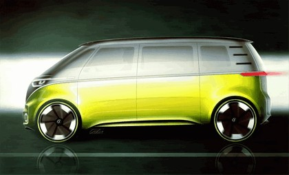 2017 Volkswagen I.D. BUZZ concept 32