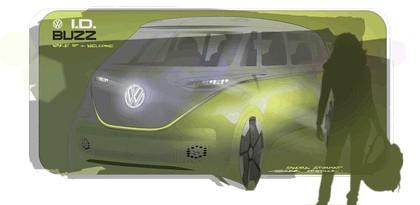 2017 Volkswagen I.D. BUZZ concept 36