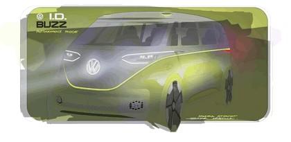2017 Volkswagen I.D. BUZZ concept 37