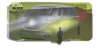 2017 Volkswagen I.D. BUZZ concept 39