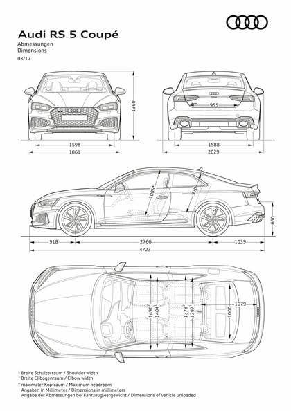 2017 Audi RS 5 coupé 36