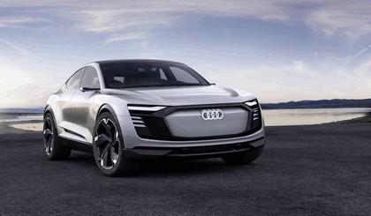 2017 Audi e-tron Sportback concept 1
