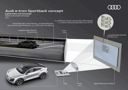 2017 Audi e-tron Sportback concept 15