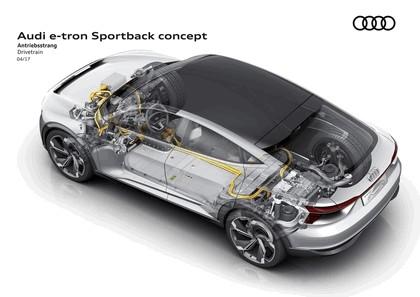 2017 Audi e-tron Sportback concept 21