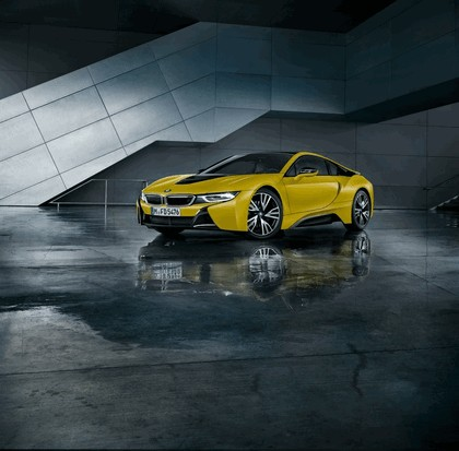 2017 BMW i8 Frozen yellow edition 7