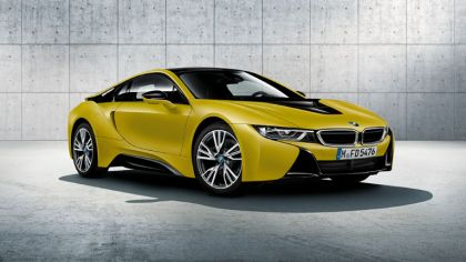 2017 BMW i8 Frozen yellow edition 7