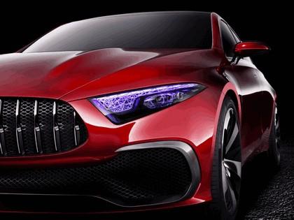 2017 Mercedes-Benz Concept A Sedan 9