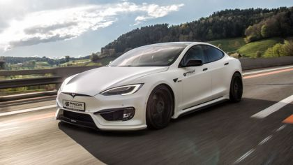 2017 Tesla Model S ( P100D ) by Prior Design 9