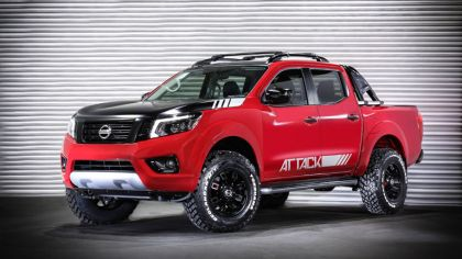 2017 Nissan Frontier Attack concept 2