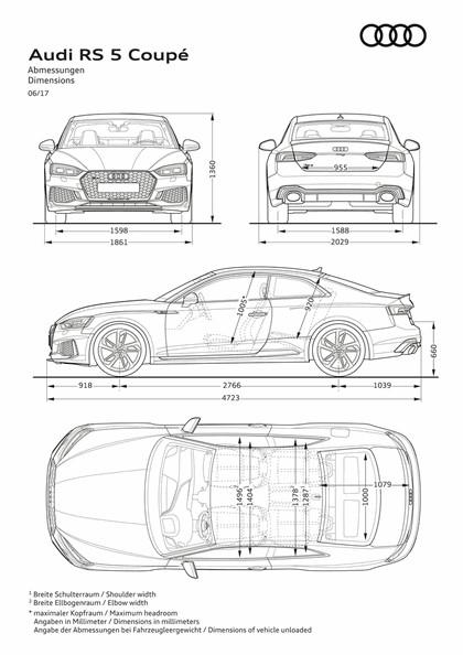 2017 Audi RS5 coupé 48