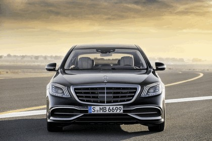 2018 Mercedes-Maybach S 650 11