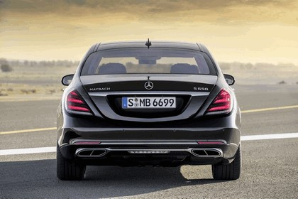 2018 Mercedes-Maybach S 650 12
