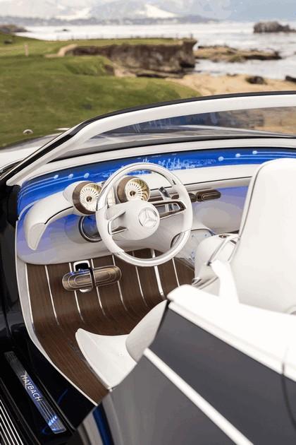 2017 Mercedes-Maybach Vision 6 cabriolet concept 31