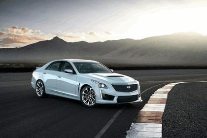 2018 Cadillac CTS-V Glacier Metallic 1