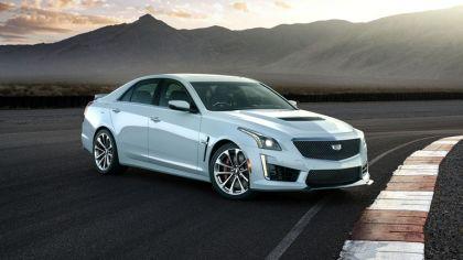 2018 Cadillac CTS-V Glacier Metallic 9