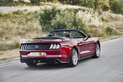 2018 Ford Mustang convertible 4