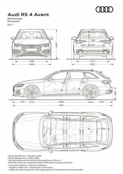 2017 Audi RS 4 Avant 44